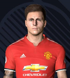 PES 2017 Faces Victor Lindelöf by Ben Hussam FaceMaker