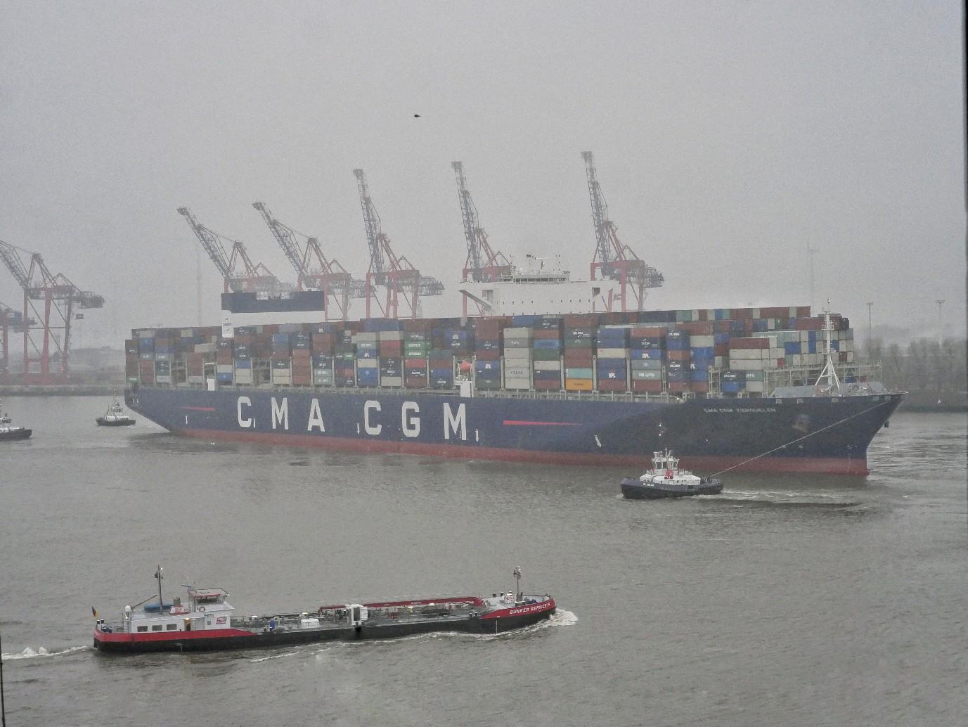 Elbe, schiffsverkehr