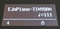 MIDI song file