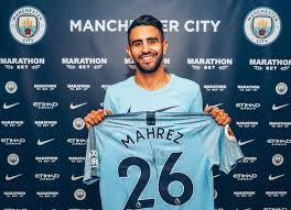 CITY SIGN RIYAD MAHREZ FROM LEICESTER