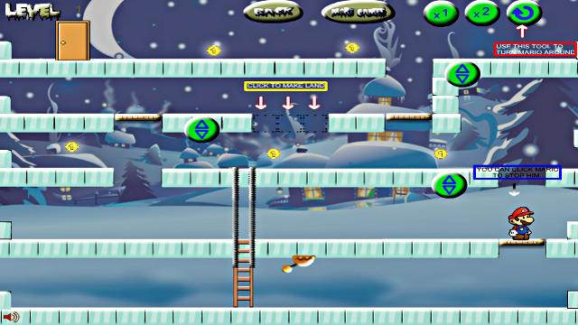 Mario Ice Land - Image du Jeu