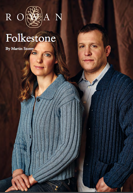 The Vintage Pattern Files Free 1930's Knitting Pattern - 1930's Style His & Hers Ribbed Cardigans