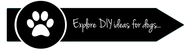 Button to explore all dog DIY and craft posts on Dalmatian DIY (linked to DIY navigation page)