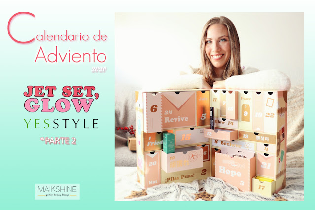 Unboxing calendario adviento Yesstyle