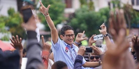 Sandiaga Sudah Habiskan Rp 1,4 T untuk Dana Kampanye