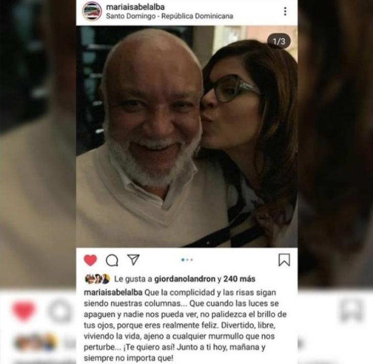 Jochy Santos y María Isabel Alba