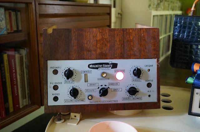 un ampli Magnetic-France Fidélité / Radiobois 1955  50s amplifier 1950s années 50 amp