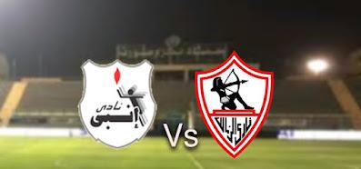 ماتش الزمالك ضد انبي كورة توادي مباشر 2-1-2021 مباراة انبي والزمالك وقنواتها الناقلة في الدوري المصري