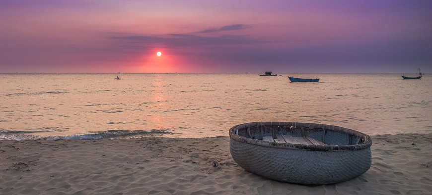 Phu Quoc best place to stay: The sunset on the Bai Dai Beach