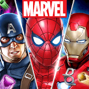 Marvel Puzzle Quest v 187.498388 apk mod CRISTAIS INFINITOS