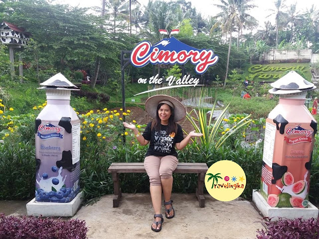 cimory on the valley bareng pacar bule
