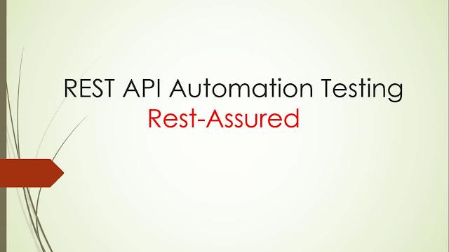 Rest Assured REST API Test Automation Framework development