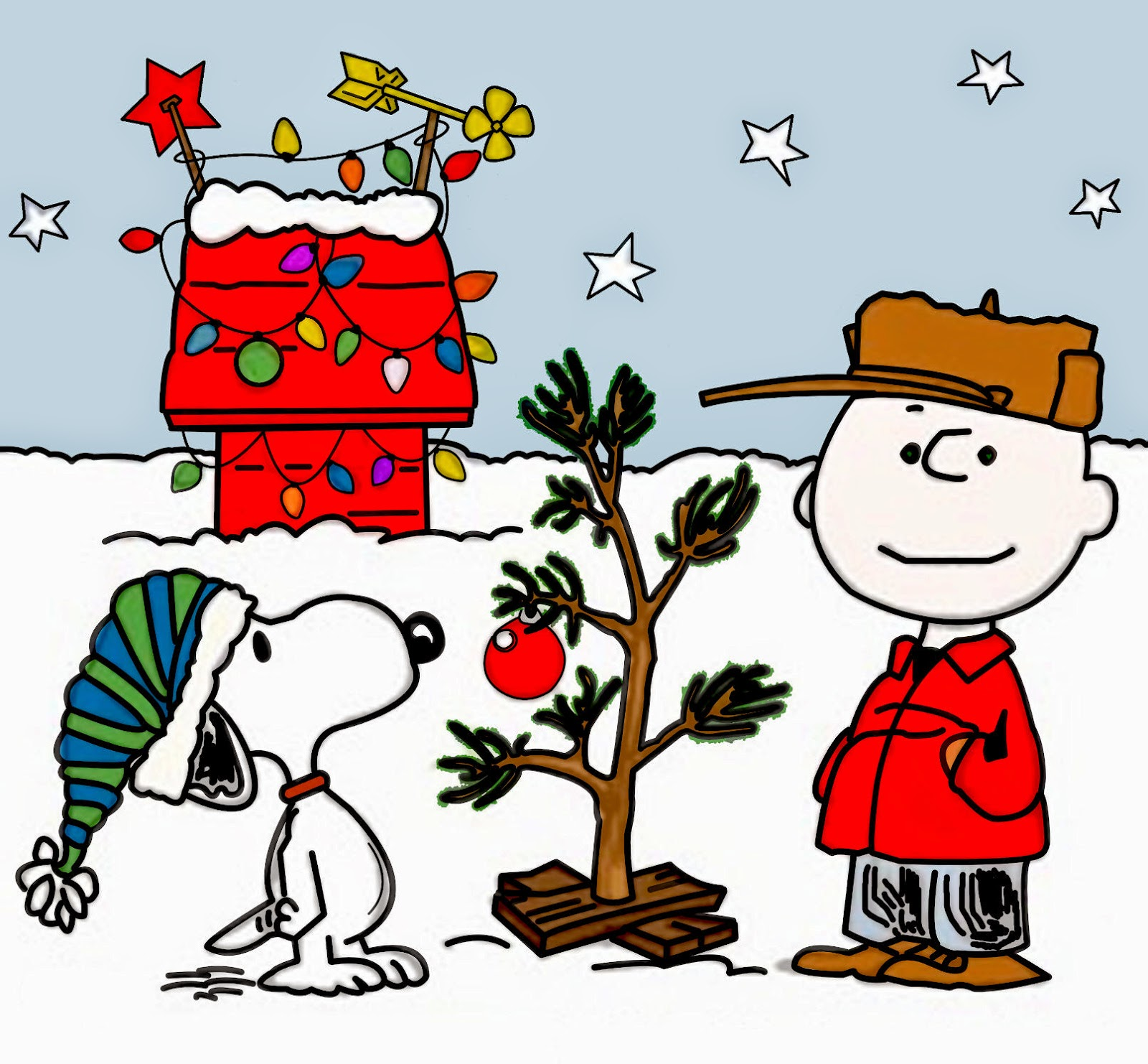 Best Charlie Brown Christmas Clip Art