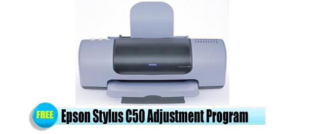 Epson Stylus C50 Adjustment Program