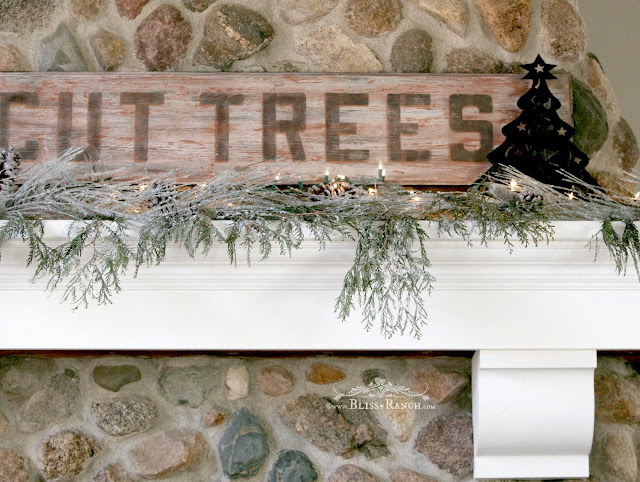 U Cut Tree Sign, Bliss-Ranch.com