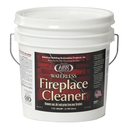 American Building Restoration Product's Waterless Fireplace Cleaner