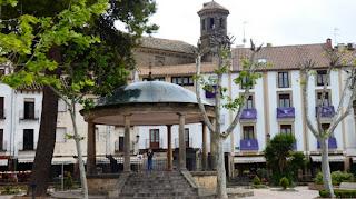 Baeza. Plaza de la Constitución, Quiosco de la Música.