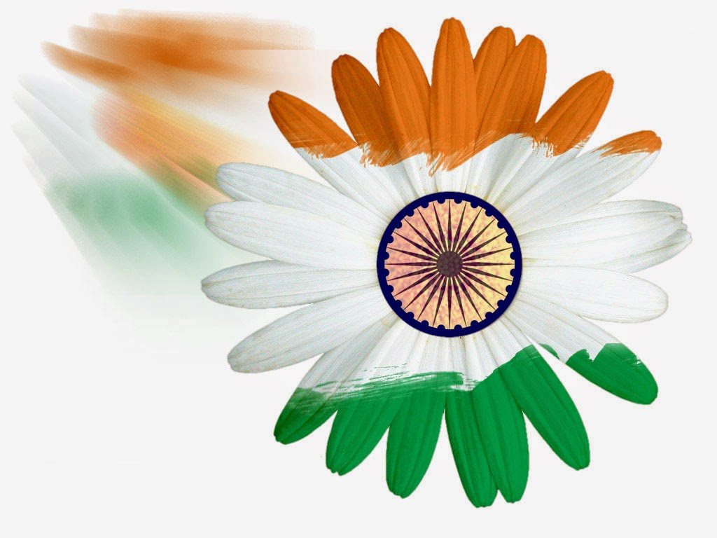 Flower With Indian Flag Hd: Latest Indian Flag Wallpaper