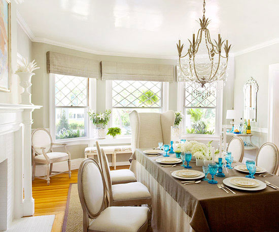 Beautiful Dining Room Ideas: Mix And Chic: Beautiful Dining Room Ideas