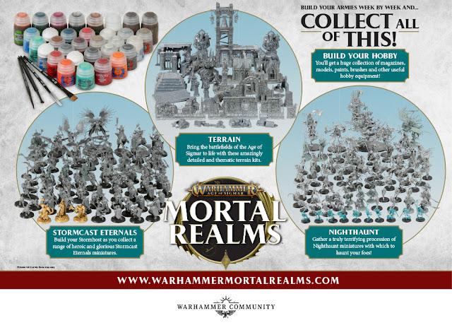 Colección Mortal Realms Age of Sigmar
