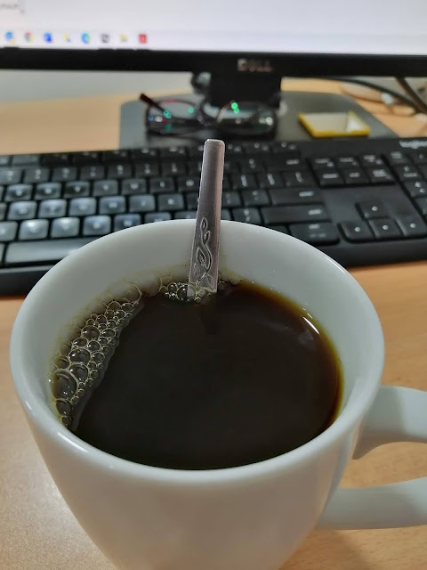 Pagi Isnin yang dingin