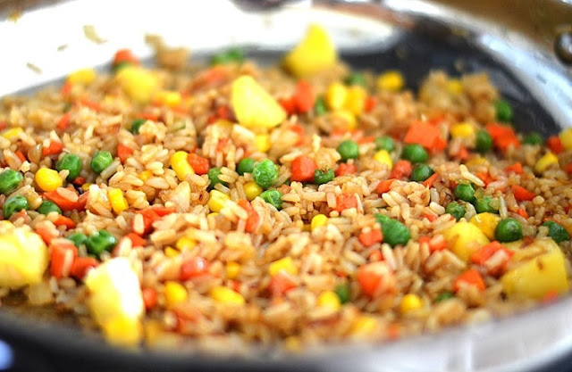 Thai Pineapple Fried Rice #vegan #healthy