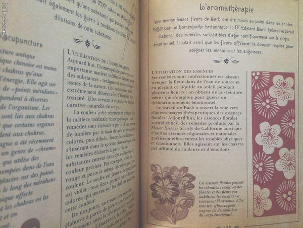 Chapitre L'aromathérapie du Petit Livre des Chakras des éditions Larousse