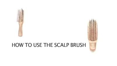 How to use a S-Heart-S shampoo brush
