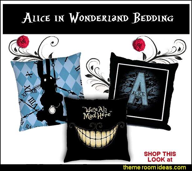 ALICE IN WONDERLAND BEDDING alice in wonderland throw pillows aice in wonderland comforters  alice in wonderland bedrooms