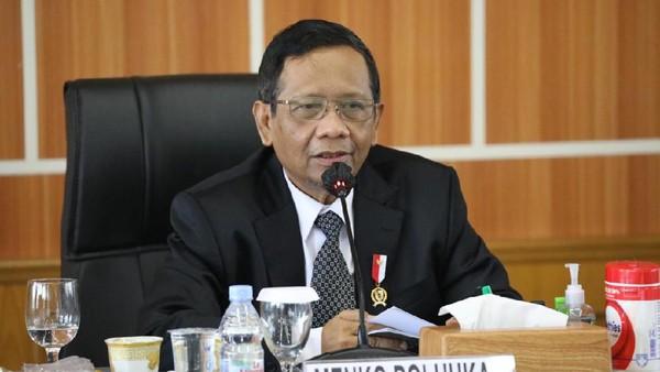 Mahfud Md Sepakat KPK Kaji Ancaman Mati di Kasus Mensos.