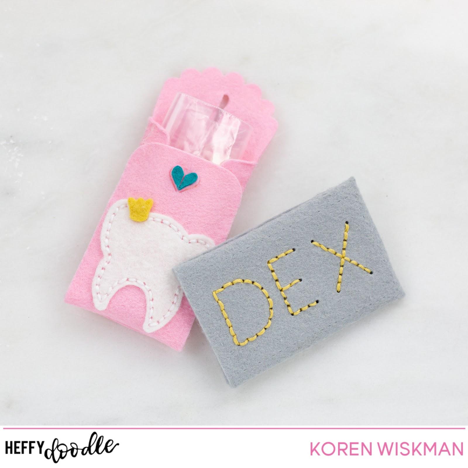 Koren Wiskman Heffy Doodle Personalized Tooth Envelope