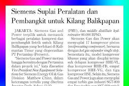Siemens Supplies Equipment and Generators for Balikpapan Refineries