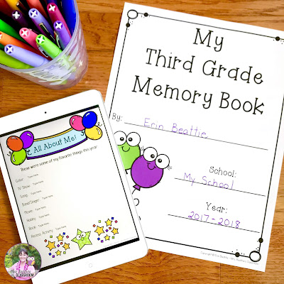 Photo of memory book resource