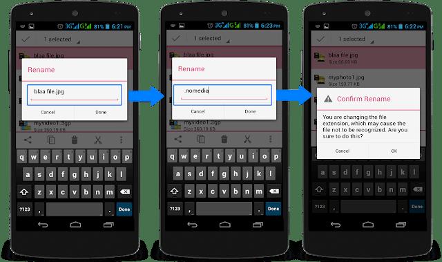 2 Cara Menyembunyikan File di Android tanpa Aplikasi