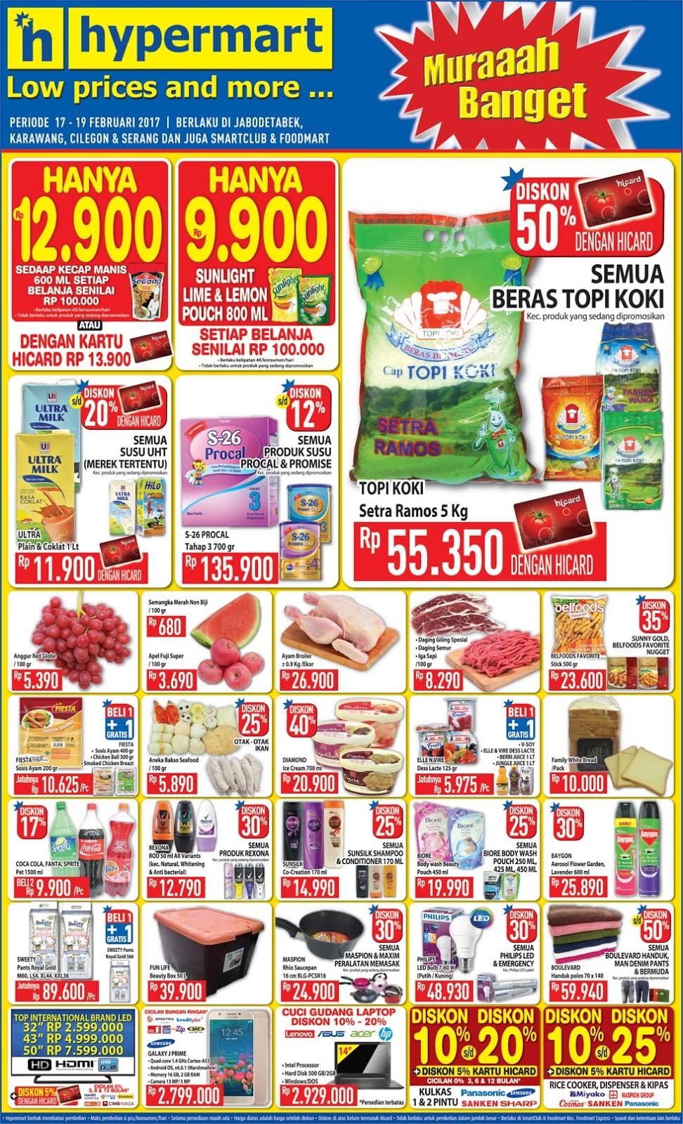 Aneka Promo Februari 2017 Voucher Belanja Hypermart Oke Supaya Tidaklah Terlalu Menanti Lebih Lama Lagi Segera Saja Kita Simak Product Apa Sajakah Yang Masuk Dalam Daftar Katalog Harga