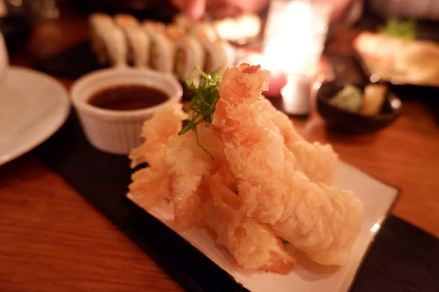 nikkei shrimp japanese fried panko tempura squid shrimp prawn