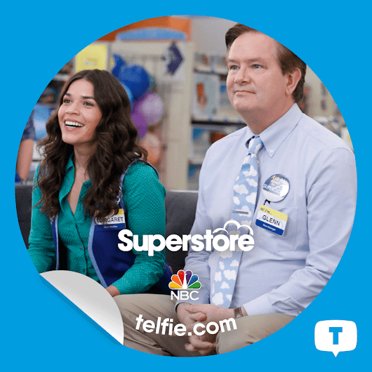 How To Unlock #Superstore Stickers from NBC