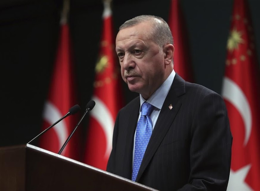 Ερντογάν: Με αυτήν τη νοοτροπία πετύχαμε σε Καραμπάχ, Κύπρο, Ανατ. Μεσόγειο και Αιγαίο