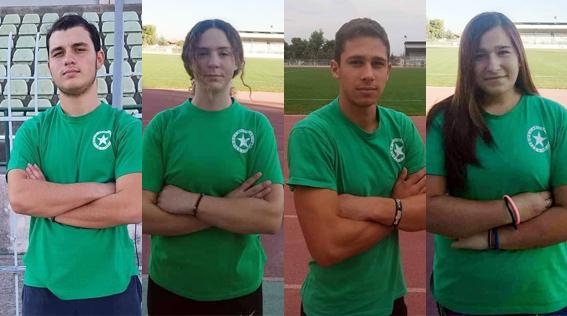 4 αθλητές του Αριστέα Άργους προκρίθηκαν στο Πανελλήνιο Πρωτάθλημα Σχολικών Αγώνων Στίβου