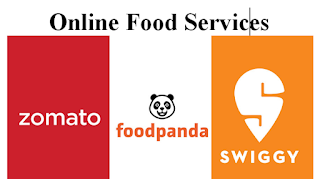 Online food services business