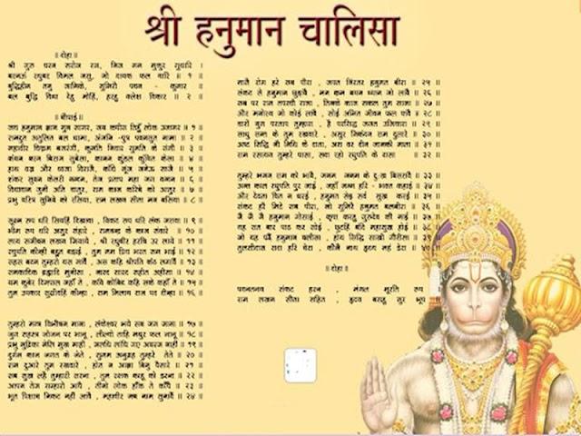 श्री हनुमान चालीसा इन हिंदी | Shri Hanuman Chalisa Aarti in Hindi with Lyrics