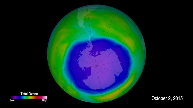Scientists observe first signs of healing in the Antarctic ozone layer
