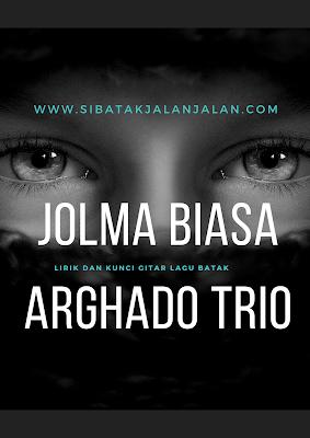 lirik dan chord gitar jolma biasa 2 aghado trio dengan kunci gitar mudah