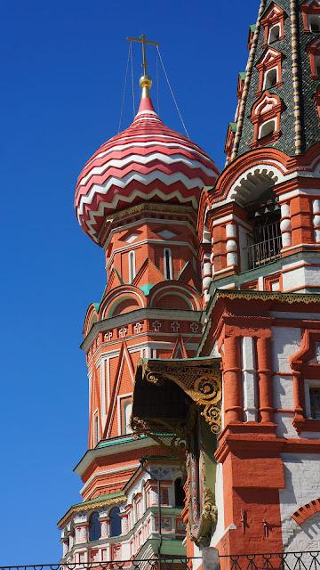 Фото одного из куполов Храма Василия Блаженного