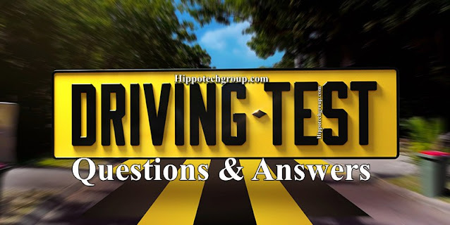 Driving Test Questions and Answers in Cameroon, Ghana, Nigeria, Gabon, India and UK