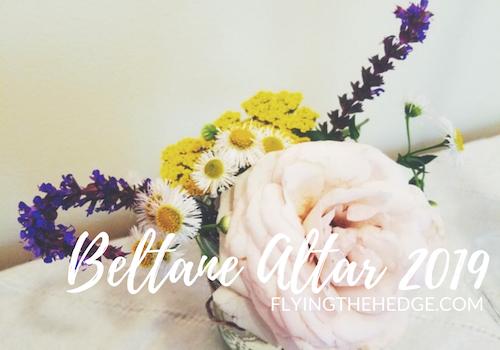 Beltane Altar 2019