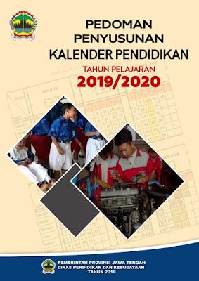 Download Pedoman Penyusunan Kalender Pendidikan Tahun Pelajaran 2019-2020 Provinsi Jawa Tengah