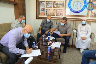 مشروع تغسيل الموتى وتوفير الأكفان والقبور لمن لا يستطيع في قطاع غزة