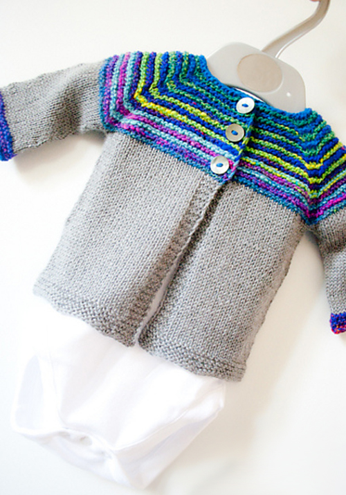 Linnie Cardigan - Free Knitting Pattern