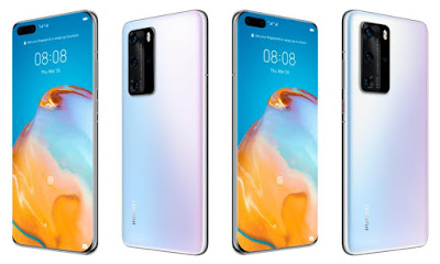 Huawei officially announced the P40 and P40